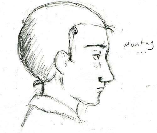 Skizze von Elyas, Montagsblues